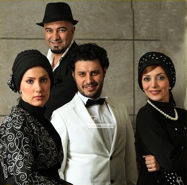 عکس جدید جواد عزتی و مجید صالحی
