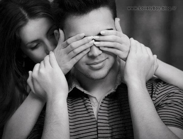 عکسهای عاشقانه آغوش و بوسه