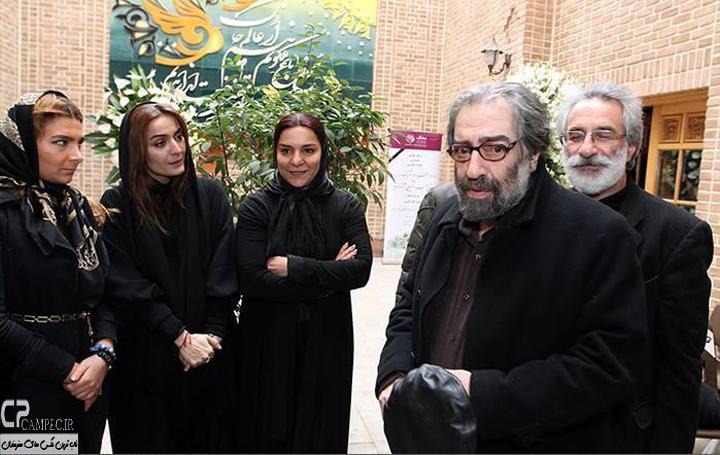 مسعود کیمیایی و السا فیروز آذر