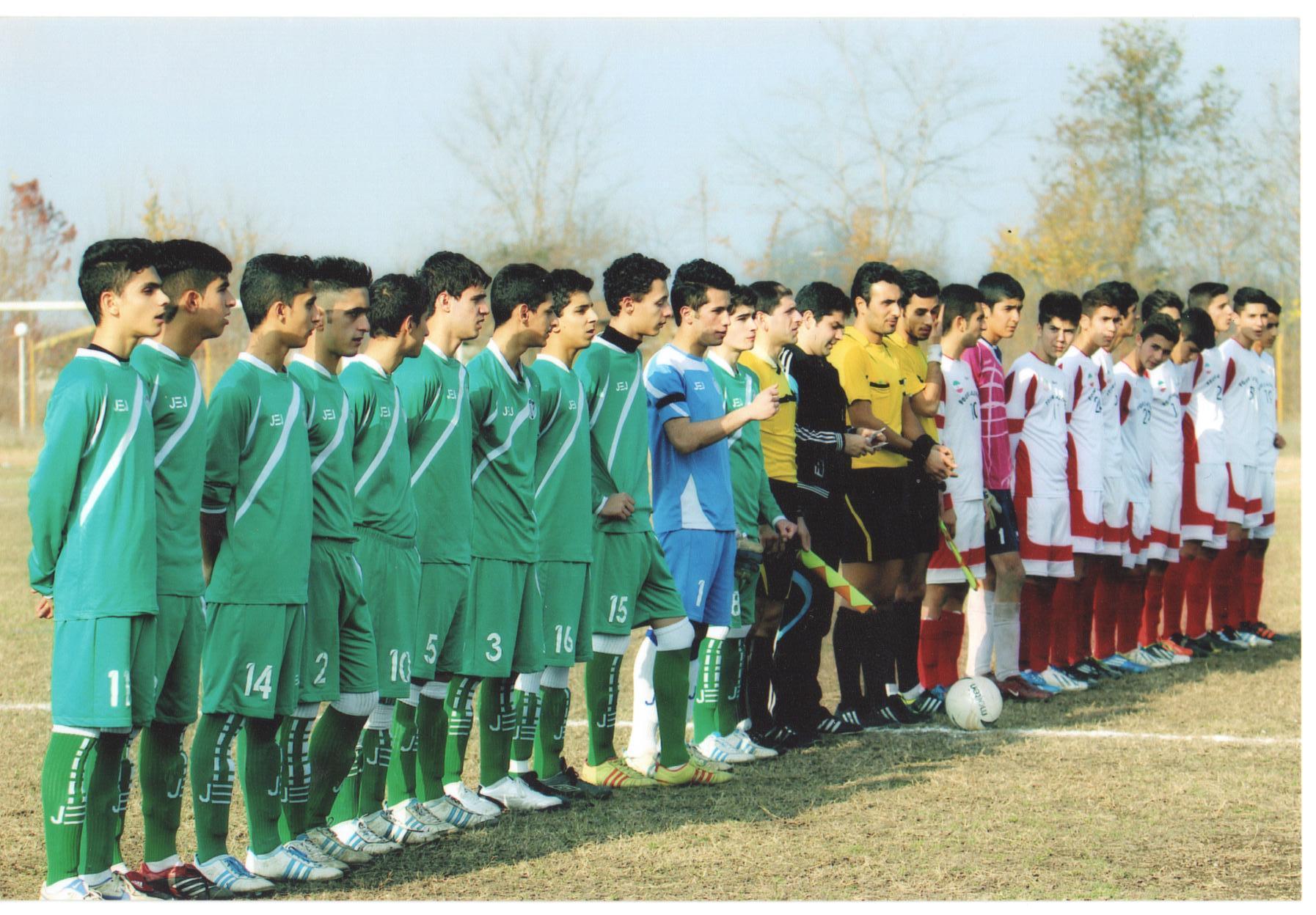 باشگاه ملوان انزلی 95 96 نوجوانان کشور - امید سپیدرود رشت فصل 95-96