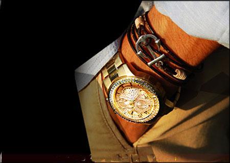 خرید ساعت مچی والار طرح رولکس