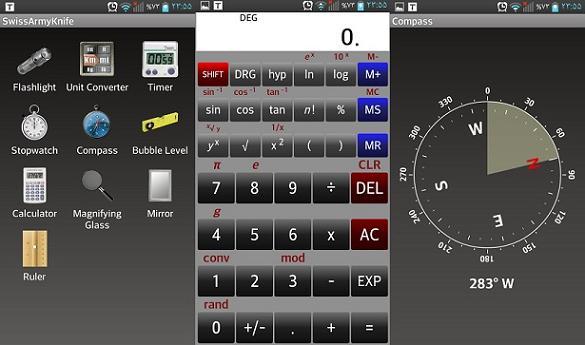 SwissArmyKnife-app android