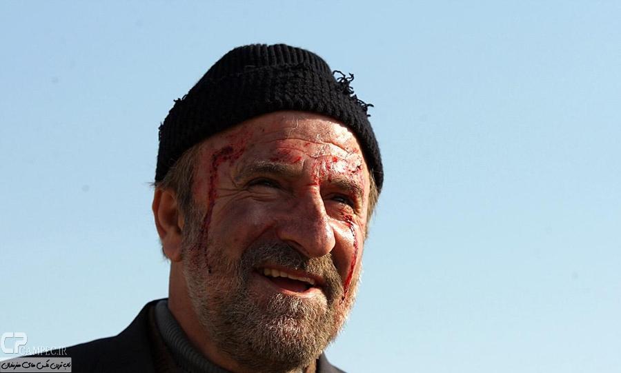 مهران رجبی در پشت صحنه سریال معراجی ها