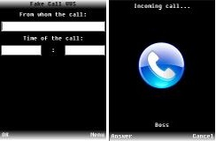 نرم افزار fake call جاوا