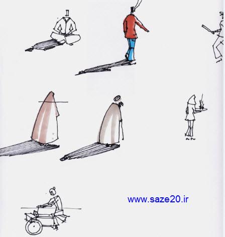 آموزش راندو و اسکیس (انسان و فیگورها)