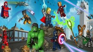 عکس های بازی LEGO Marvel Super Heroes