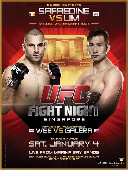 دانلود یو اف سی فایت نایت 34 | UFC Fight Night 34: Saffiedine vs. Lim