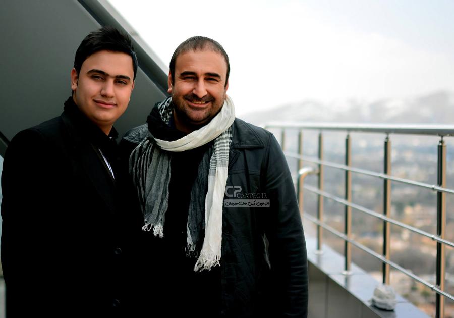 مهران احمدی و سجاد منصوری