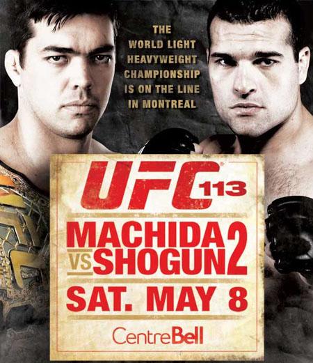 دانلود یو اف سی 113 | UFC 113: Machida vs. Shogun 2+نسخه 720