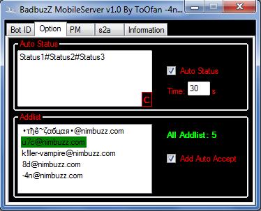 BadbuzZ_MobileServer_v1_0 Mobile2