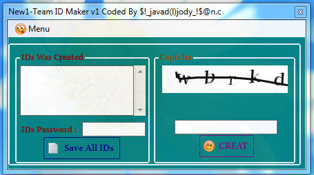 New1-Team Mini Faster ID Maker v1 + ID Chaker And Change Info All IDs Id_maker1
