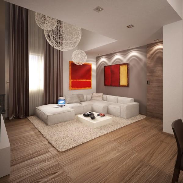 سه نمونه طرح جذاب برای آپارتمان های کوچک