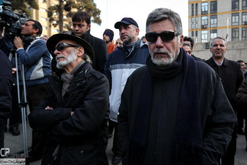 مراسم تشییع پنج کشته شدهی معراجیها
