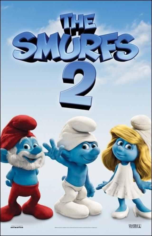 The Smurfs 2 cover small دانلود دوبله فارسی انیمیشن اسمورف ها ۲ – The Smurfs 2 2013