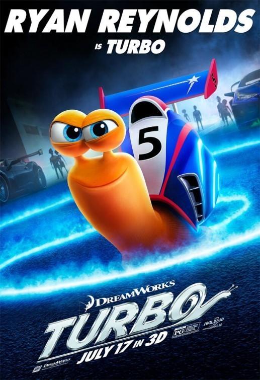Turbo 2013 cover small دانلود دوبله فارسی انیمیشن توربو   Turbo 2013
