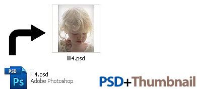Thumbnails Explorer PSD