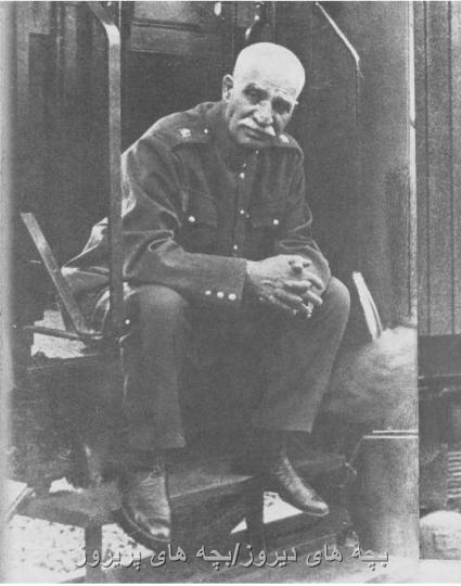 تصویری از رضاخان میرپنج-رضا شاه-بنیانگذار سلسله پهلوی
