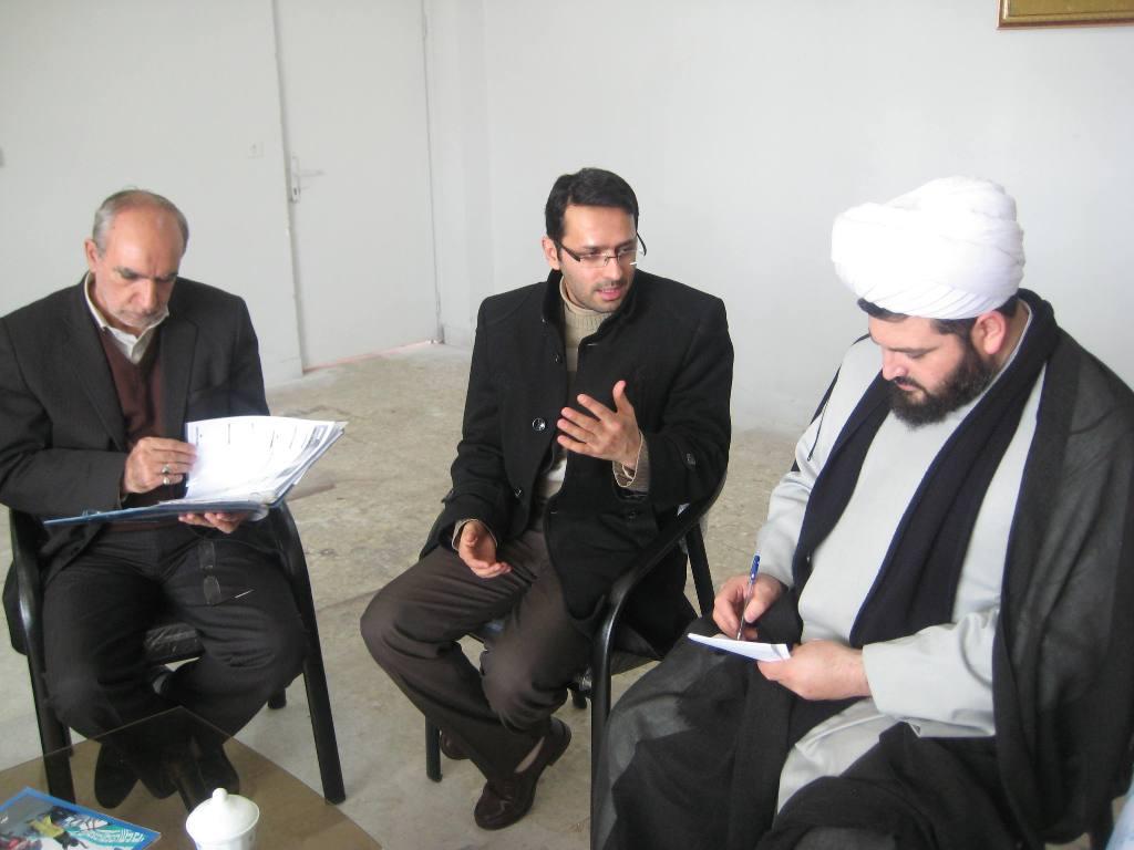 بازدید مسئول دبیرخانه کانون های فرهنگی هنری مساجد استان از منطقه ویژه شهرستان خوی
