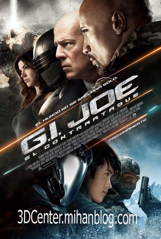 دانلود فیلم سه بعدی و زیبای G.I. Joe: Retaliation 3D