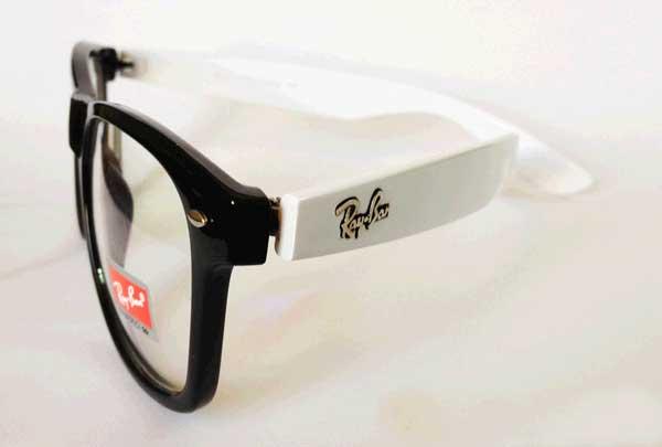 خرید عینک ریبن ویفری شیشه شفاف دسته رنگی