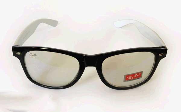 عینک شیشه سفید ریبن ویفر