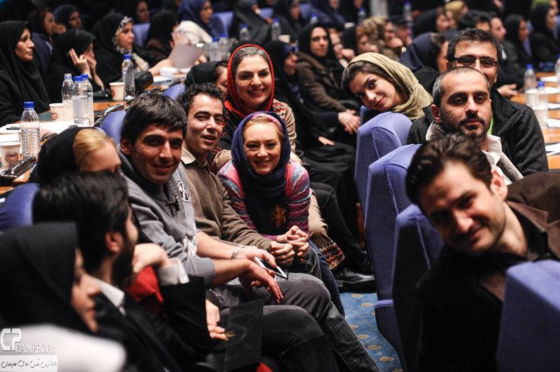 سحر ولدبیگی و همسرش نیما فلاح و حمید گودرزی