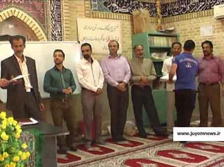 افتتاح و کلنگ زنی دفتر امام جمعه و مصلی نماز جمعه