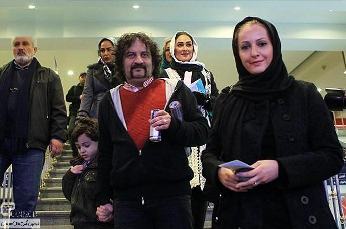 شقایق دهقان و همسرش مهراب قاسم خانی