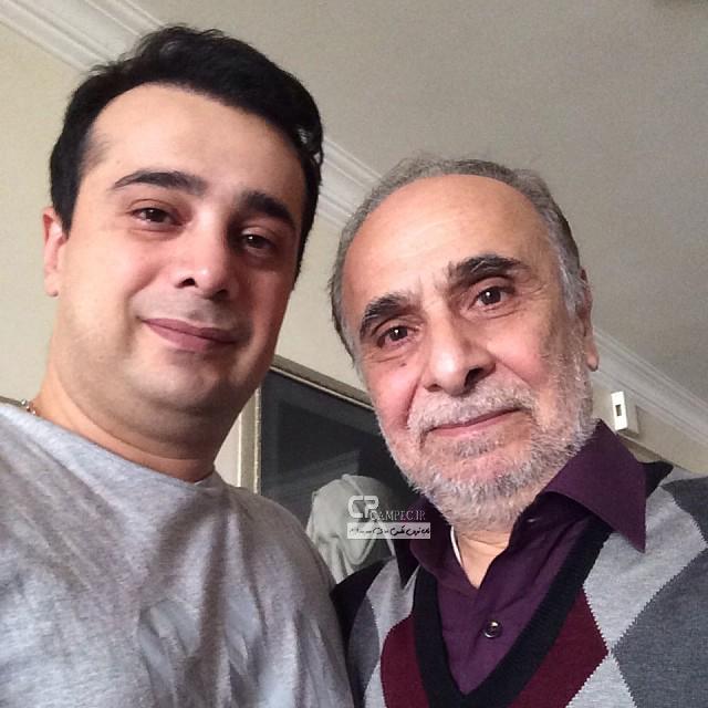 سعید امیر سلیمانی و پسرش سپند