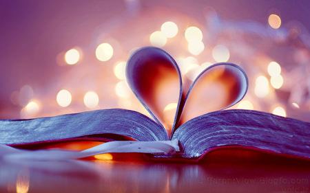 عکس + عکس عاشقانه + عکس کتاب + کاغذ + عاشقانه + کتاب + قلب + heart book + heart + hd