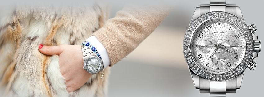 خرید ساعت مچی طرح رولکس مارک والار
