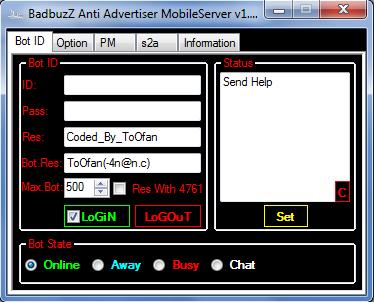 BadbuzZ Anti Advertiser MobileServer v1.0 By ToOfan -4n@n.c An1