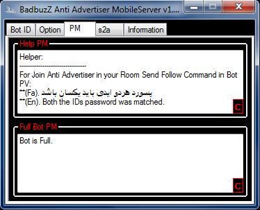 BadbuzZ Anti Advertiser MobileServer v1.0 By ToOfan -4n@n.c An3