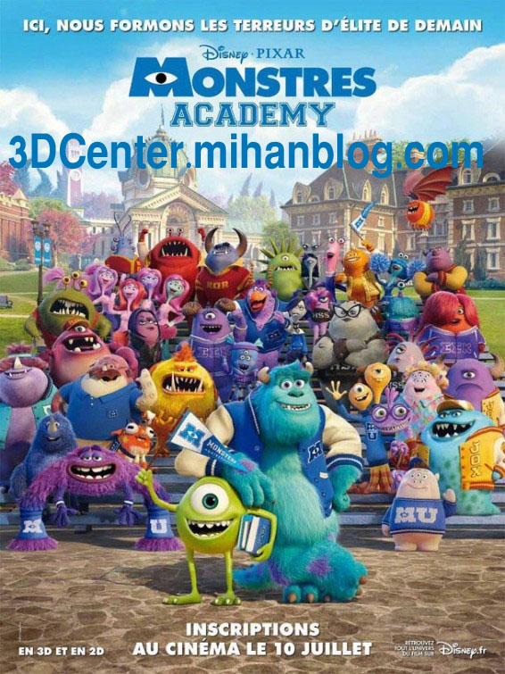 دانلود انیمیشن دوبله فارسی Monsters University 2013 3D-دانشگاه هیولاها