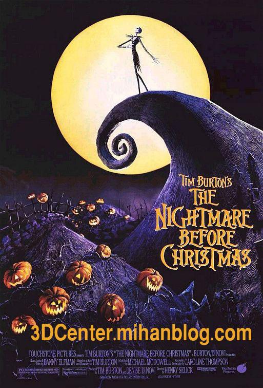 دانلودانیمیشن سه بعدیThe Nightmare Before Christmas 1993دوبله فارسی
