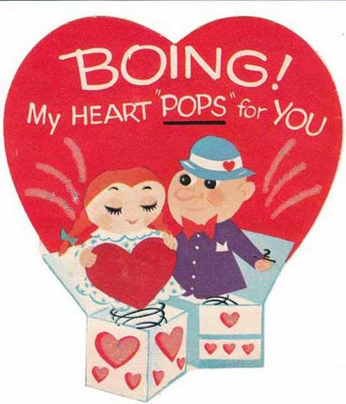 کارت پستال عشقی