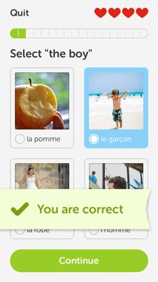 دانلود برنامه Duolingo ، یادگیری آسان زبان های خارجی