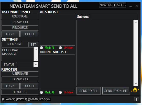 New1 Team Smart S2A And S2O Sender + Remoter v2 New1team