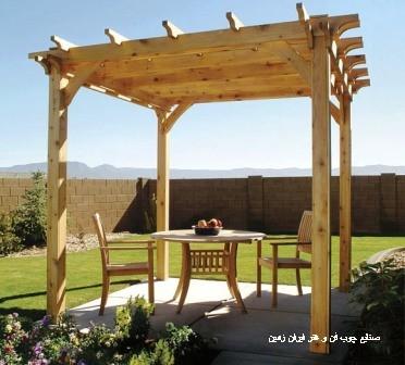 گالری تصاویر آلاچیق پرگولا و صنایع چوب