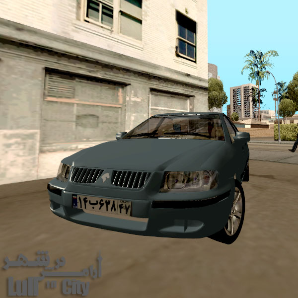 دانلود سمند ال ایکس برای GTA SA