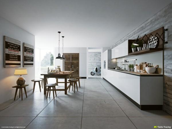 انواع کابینت، جزیره و اوپن در آشپزخانه
