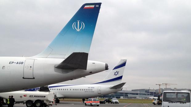 هواپیمای دکتر روحانی+هواپیمای نتانیاهو