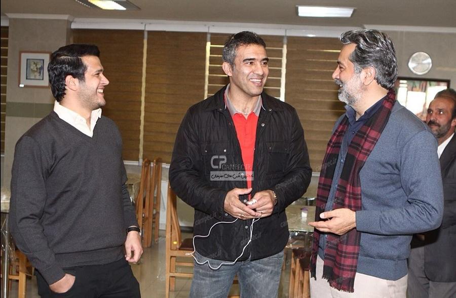 حمید رضا پگاه،احمد رضا عابدزاده،سیاوش خیرابی