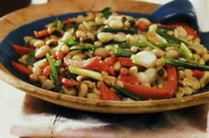 آشپزی: طرز تهیه سالاد لوبیا مناسب افراد دیابتی