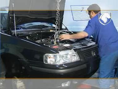 فیلم آموزشی تعمیر موتور ملی Ef7