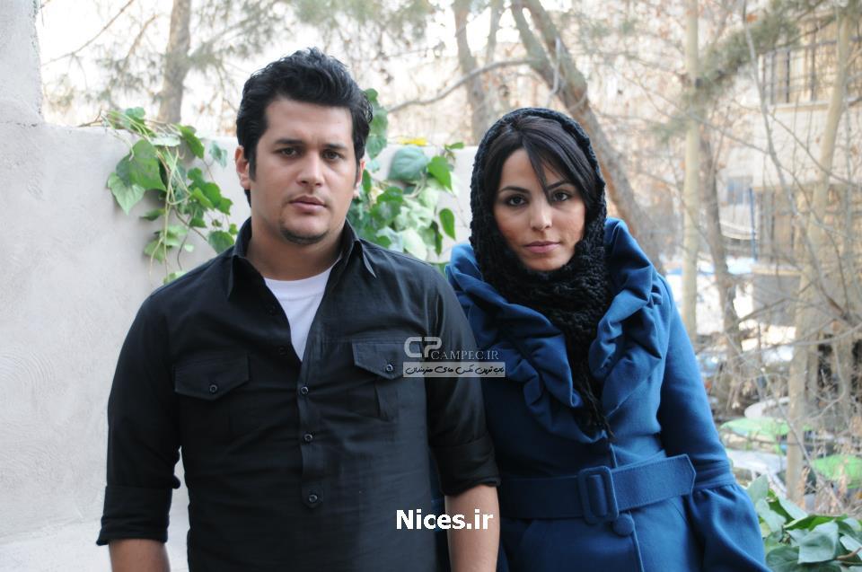 سیاوش خیرابی و همسرش
