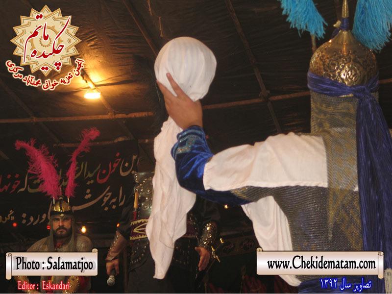 تصاویر تعزیه خوانی کاشان ، محمدآباد مرکزی