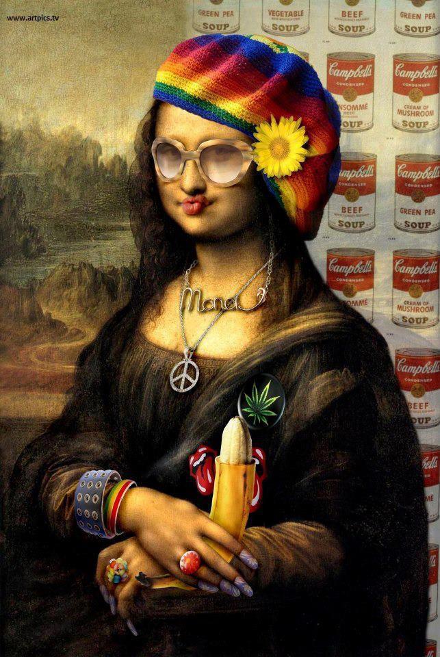 عکس پروفایل مونالیزا...!
