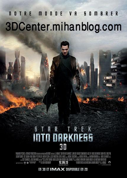 دانلود فیلم سه بعدی Star Trek Into Darkness 3D