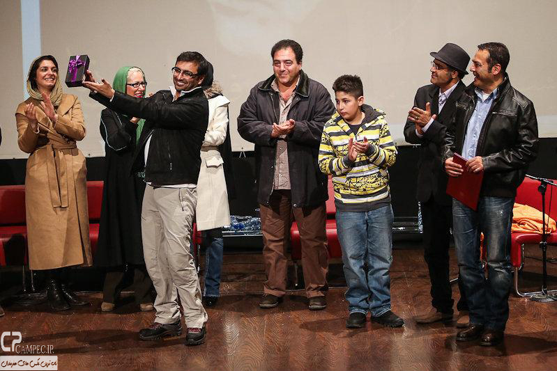 مراسم بزرگداشت فریبرز عرب نیا با حضور بازیگران